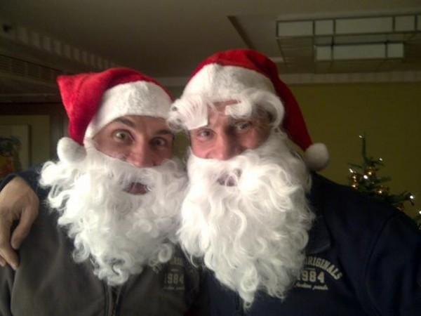 Кличко - Санта-Клаусы