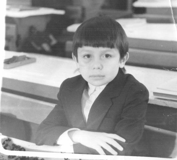 Геннадий Головкин в детстве