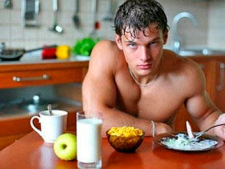питание при сгонке веса