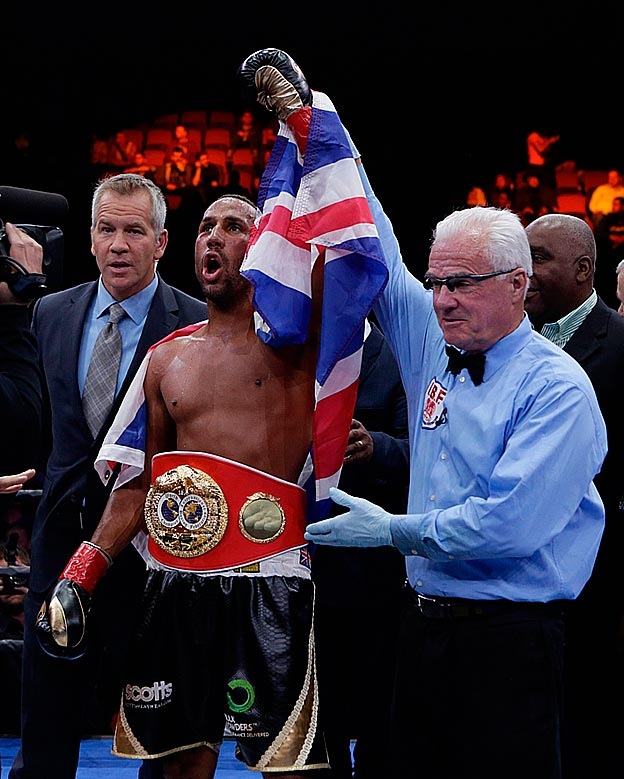 Джеймс Дигейл выиграл вакантный титул IBF в суперсреднем весе