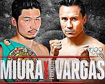 Такаши Миура против Франциско Варгаса