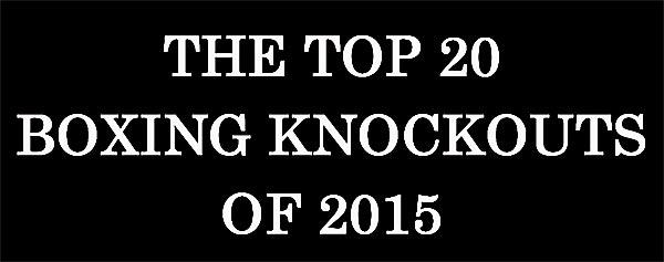Лучшие нокауты 2015