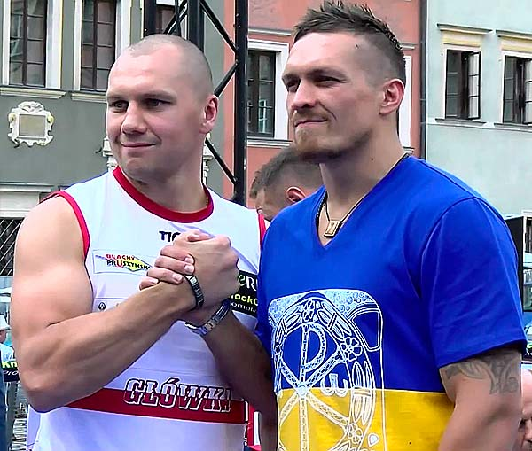 Александр Усик - Кшиштоф Гловацки