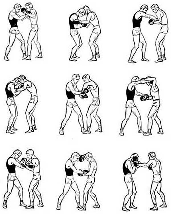 Картинки приемы для бокса